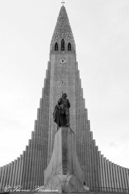 Halgrimskirkja Reykjavik - Island 2013
