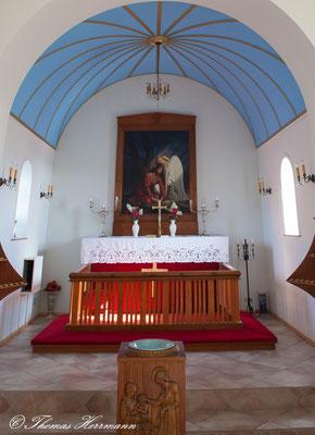 Kirchenschiff Vik i Myrdal Kirke - Island 2013
