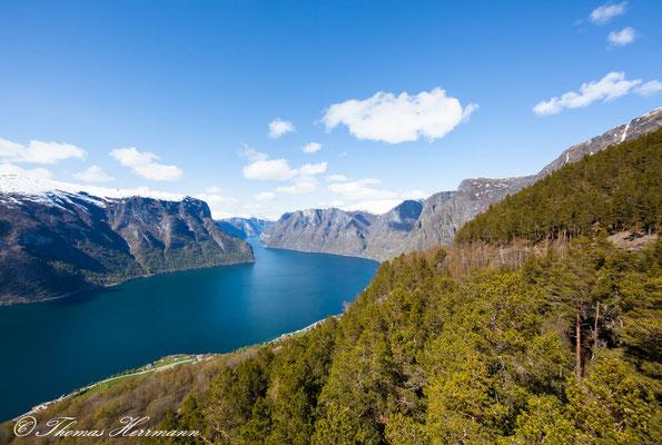 Aurlandsfjord - Stegastein Lookout - 2014
