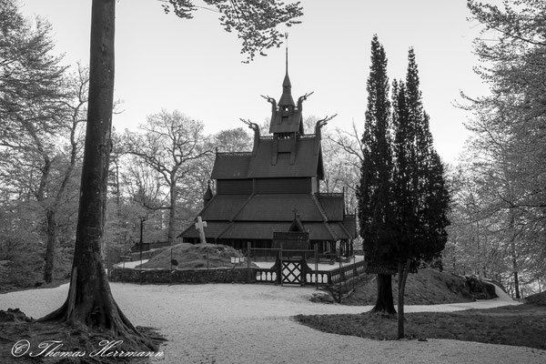Fantoft Stabkirke - Bergen 2014