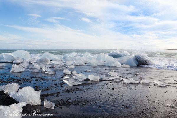 Jökulsarlón-Gletscherlagune - Island 2013