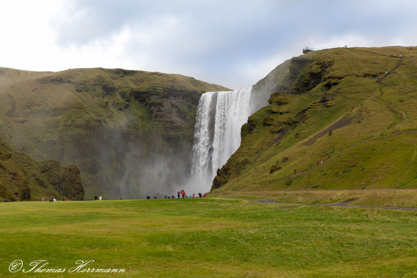 Skógafoss - Island 2013