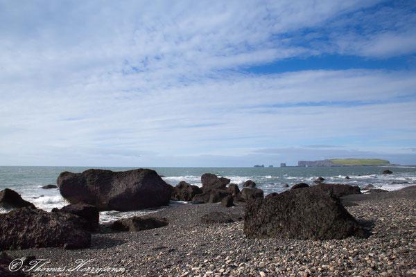 Strand Nähe Reynisdrangarfelsen - Island 2013