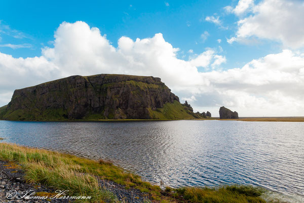 Anderer Blickwinkel auf Dyrhólaey - Island 2013