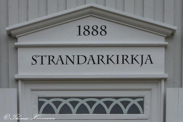 Strandarkirkja Suðurstrandarvegur, Island 2013