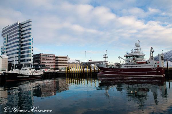 Tromsö inneres Hafenbecken - Nordnorwegen 2015