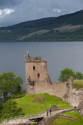 Urquhart Castle am Loch Ness - Schottland 2015