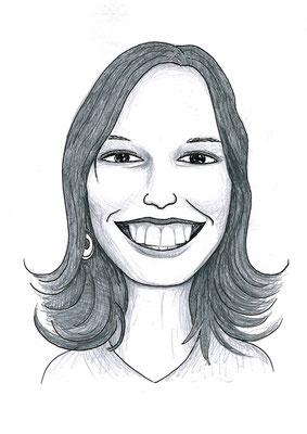 Karikatuur 10 - potlood / zwarte pen op papier 21 x 29.7 cm