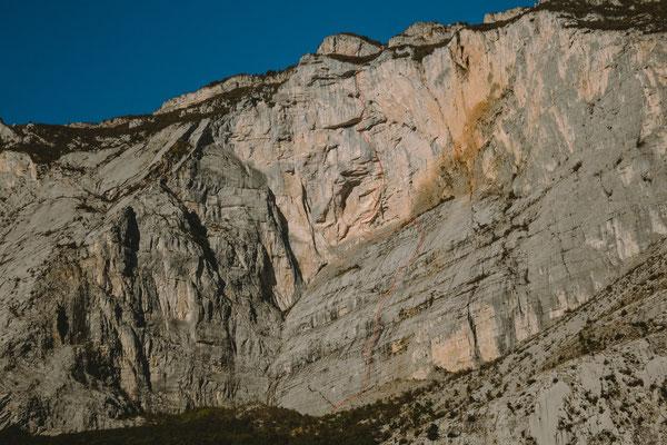 Monte Brento Ostwand, Il Grande Incubo © Fritz Miller