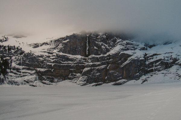 Der Eisfall NIN (Bildmitte) © Michi Wohlleben