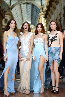 Milan Fashion Week 2017 by Susanna Silicani fashion designer