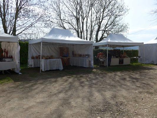 JEMA 2018 La Motte de Galaure - Atelier Éclats de bois - marqueterie d'art - les stands