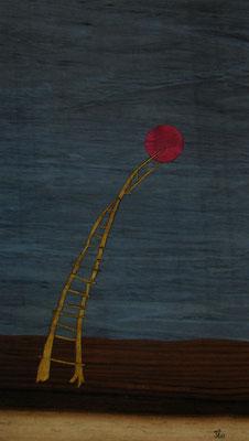 Marqueterie - exposition Biviers 2015 -  Décrochons la lune
