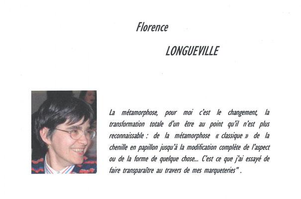 """Florence Longueville - exposition des artistes - thème """"métamorphose"""" - Biviers 2013"""