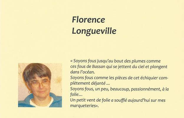 """Florence Longueville - exposition des artistes - thème """"soyons fous """" - Biviers 2015"""