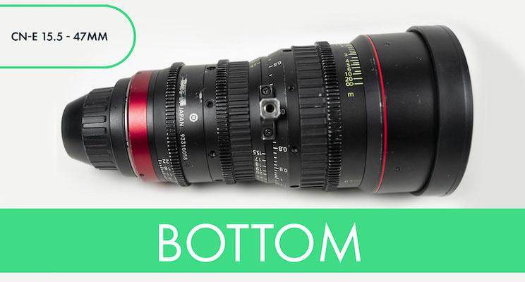 PUHLMANN CINE -  CANON 15.5-47mm T2.8 L S Wide-Angle Cinema Zoom Lens