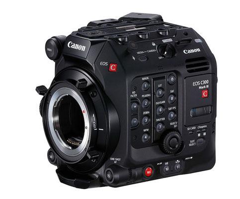 Puhlmann Cine - Canon EOS C300 Mark III 4K-Camcorder