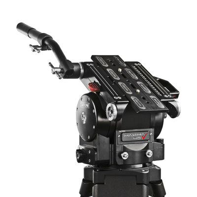 Puhlmann Cine - Cartoni Maxima 40 Fluid Heads Flat base
