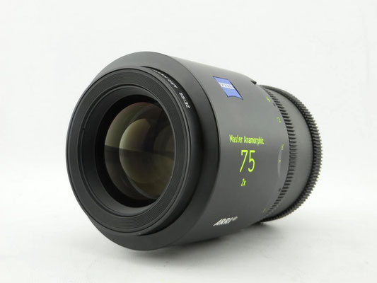 Puhlmann Cine - Carl Zeiss ARRI 75mm Master Anamorphic Cine Lens, T1.9, PL