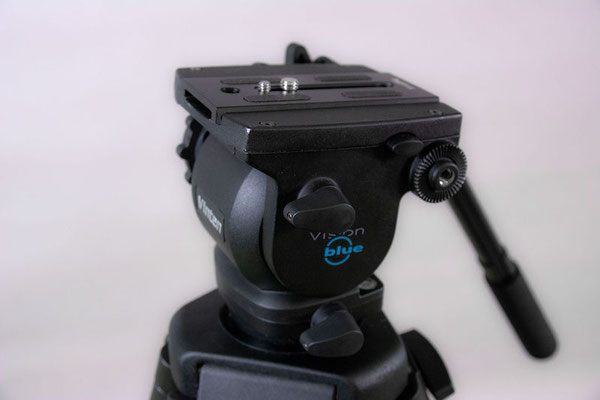 Puhlmann Cine - Vinten Vision Blue Tripod System