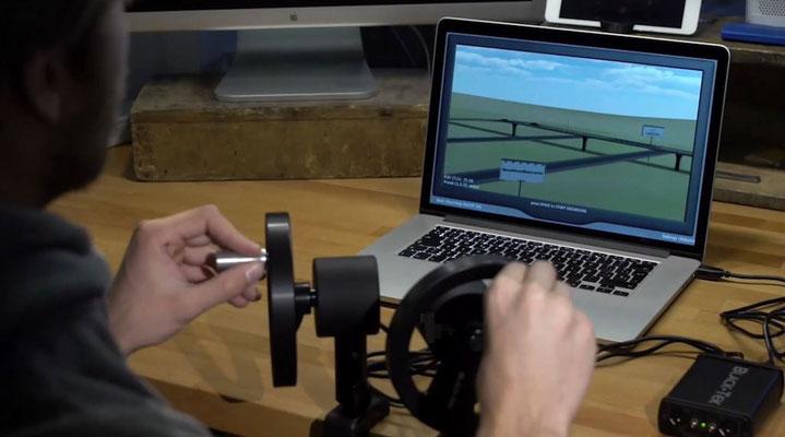 Puhlmann Cine -Black-Tek Geared Head Simulator