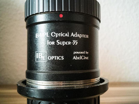 Puhlmann Cine - IB/E Optics HDx35 B4/PL Optical Adapter
