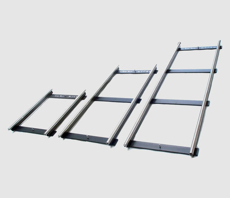 Puhlmann Cine - GF-Track - Standard lengths: 90cm / 3ft - 160cm / 5ft - 230cm / 7.5ft