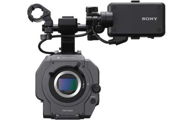 Puhlmann Cine - Sony PXW-FX9 6K Full Frame Camera Body