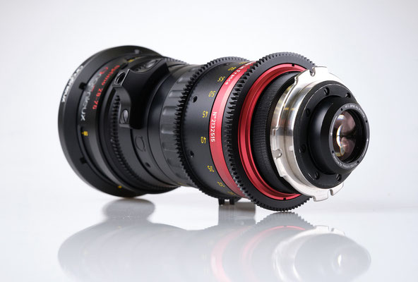 Puhlmann Cine - Angenieux Optimo Cine Zoom Lens 28-76mm, T2.6