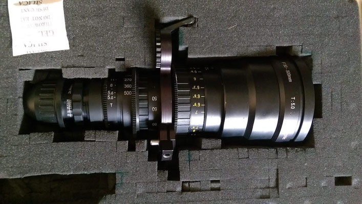 Puhlmann Cine - Angenieux 50-500mm HR 2x Anamorphic Zoom