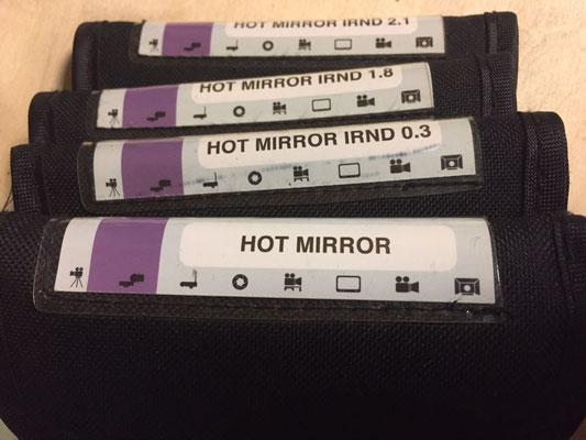 Tiffen Hot Mirror IRND Filter  -  puhlmann matthias