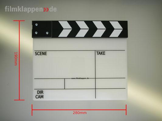 "Puhlmann Cine - Camera Slate b/w ""LaBelle"""