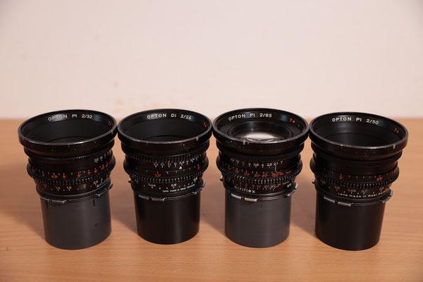Puhlmann Cine - ARRI Zeiss / Opton Standard Prime Cine Lens Set