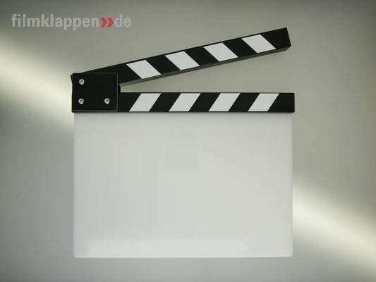 "Puhlmann Cine - Camera Slate b/w ""Blank"""