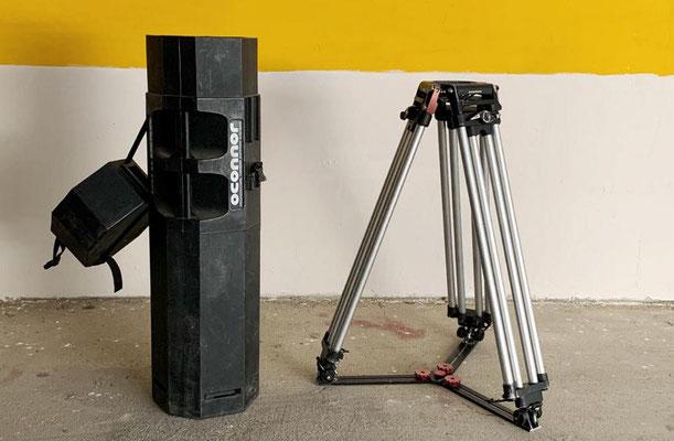PUHLMANN CINE - OConnor Tripod Cine HD tall with ground spreader and case