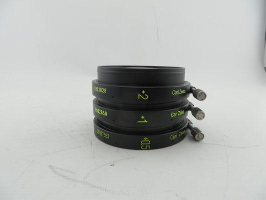 Puhlmann Cine - Carl Zeiss 95mm Diopter Set +0.5, +1, +2 for Supreme Lenses