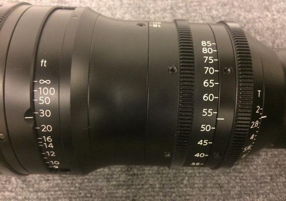 Puhlmann Cine - Fujinon Cine Zoom Lens 18-85mm Cabrio