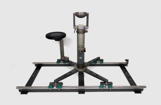 Puhlmann Cine - Grip Kit-Track Dolly with seat and riser