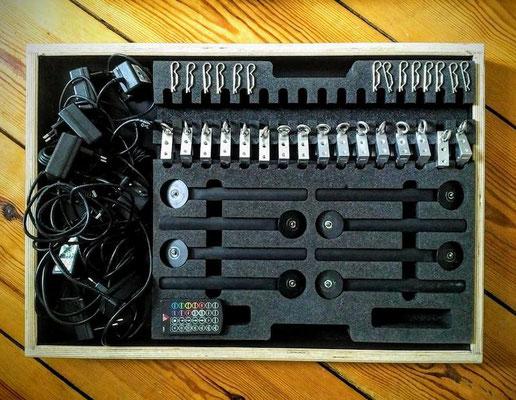 Puhlmann Cine - ASTERA AX1 Picel Tube set  + ART7-CRMX Astera Box