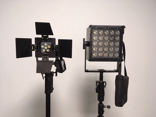 Puhlmann Cine - NILA Boxer and NILA Zaila LED Lights Set