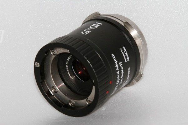 Puhlmann Cine - HDx35 B4/PL Optical Adapter