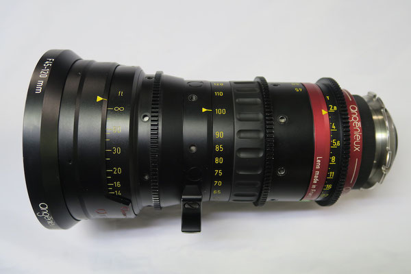 Puhlmann Cine - ANGENIEUX OPTIMO 45-120mm Zoom T2.8