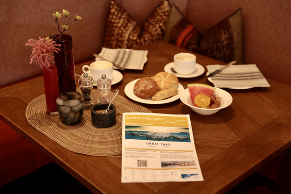 Morgenpost am Frühstückstisch