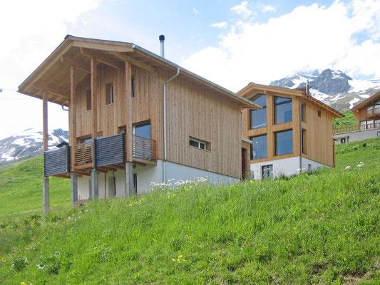 Neubau Ferienhäuser, Lauchernalp