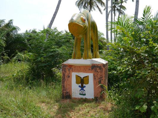 Denkmal Sklavenroute Ouidah (Westafrika), © Brühl Stiftung, 2013