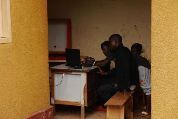 PC-Schulungsraum, Somero Center, Uganda (© Somero + Brühl Stiftung)
