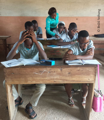 Deutsch Unterricht, 10. Klasse, Bénin (Westafrika)