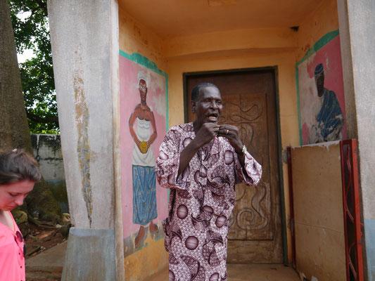 Voodoo-Tempel in Ouidah (Westafrika), © Brühl Stiftung, 2013