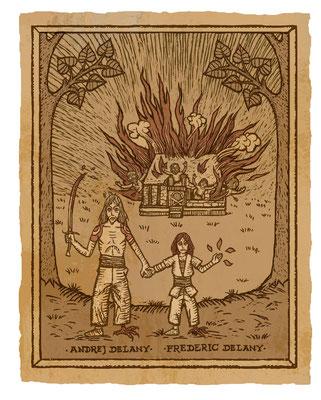 Benjamin von Eckartsberg - Illustration: Die Chronik der Unsterblichen - Am Abgrund 2 - Verlag: Egmont Comic Collection