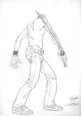 Benjamin von Eckartsberg - Live Drawing - Figürlich
